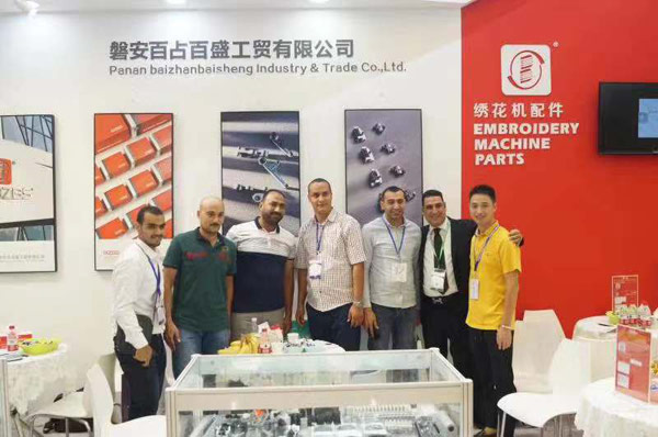 Customer Flow of Baizhan Baisheng Booth at CISMA Exhibition 2019